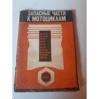Запасные части к мотоциклам 1973 г.
