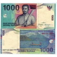Индонезиия  1000 рупий   2000 год UNC