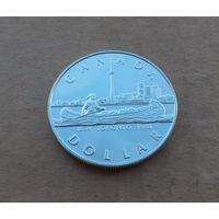 Канада, 1 доллар 1984 г., серебро, 150 лет Торонто