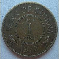 Гайана 1 цент 1977 г.