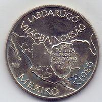 Венгрия, 100 форинтов 1985 года. Футбол, ЧМ 1986 года.