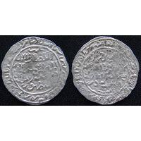 YS: Расулиды, Аль-Музаффар Юсуф I, 13 век, дирхем ок. 1263 (661AH), серебро (5)