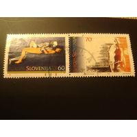 Словения 1995г. Европа Мир и свобода сцепка