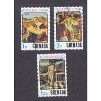 Гренада-Гренадины, 1975, живопись, Пасха 3м