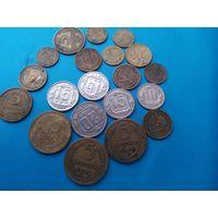 Сборка монет 30 годов (состояние)(cм. описание лота )