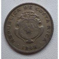 Коста-Рика 50 сентимо, 1948 6-7-21