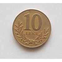 Албания 10 лек 1996 г.