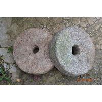 Каменные жернова пара