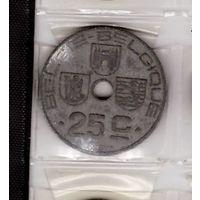 25 сантимов 1946 Бельгия. Возможен обмен
