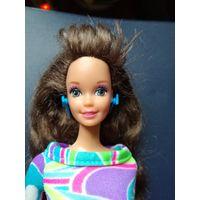 Барби, Totally Hair Barbie, брюнетка в родном платье