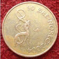 3741:  50 эре 2004 Норвегия