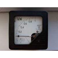 Ваттметр переменного тока СССР до 1 Кв ЗИП Д341/2 1965г