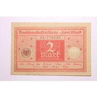 Германия, 2 марки 1920 год, UNC