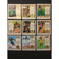 Олимпийские игры в Мюнхене. Гвинея,1972, серия 7 марок