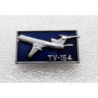 Значок. Самолеты. ТУ - 154 #0159
