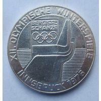 Австрия 100 шиллингов 1976 XII зимние Олимпийские Игры, Инсбрук 1976 (отметка монетного двора Щит - Вена)