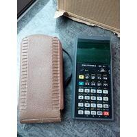 Калькулятор электроника МК61. СССР. 1992год. От батареек и сети. Блока нету
