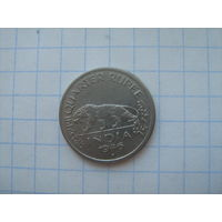 Брит.Индия 1/4 рупии 1946г. не частый год