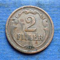 Венгрия 2 филлера 1938