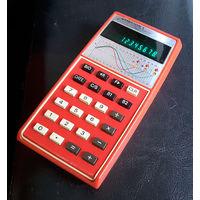 Редкий калькулятор с расчетом биоритмов. Made in Japan. 1977 год.