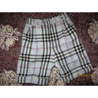 Стильные тёплые шорты для девочки