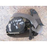 101088 Citroen C5 01-04 ремень безопасности пер прав 96371869gw