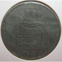 Бельгия 5 франков 1941 г. Der Belgen. В холдере (gk)