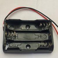 Батарейный отсек AAA ((цена за 3 шт)) на 3 батарейки ааа, держатель с проводами