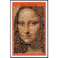 Живопись. Мона Лиза. Сент-Винсент и Гренадины. 1999. 16 марок в 1 листе (полный комплект). Michel N 4761-4768 (8,0 е).