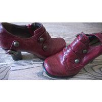 Новые туфли под кожу рептилии