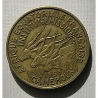 Франц. Камерун 25 Фр. 1958 (6)