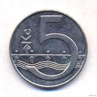 Чехия 5 крон 2002