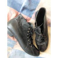 Ботинки кожаные 36 р
