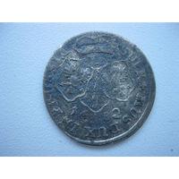 Пруссия, 6 грошей 1682 г., серебро, Фридрих Вильгельм