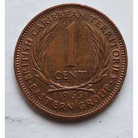 Восточные Карибы 1 цент, 1965 4-8-11