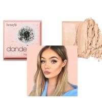 BENEFIT Dandelion Twinkle Пудра-хайлайтер нежно-розового оттенка