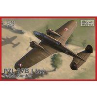 PZL.37B Los Polish Medium Bomber  1/72 IBG 72514
