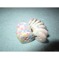 Пуговицы разноцветной окраски, 17 мм