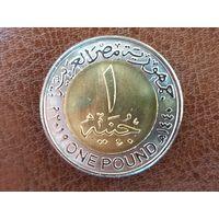 1 фунт 2019 Египет ( Новая столица Египта - Ведиан )