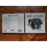 100% TENORS /P.Domingo/J.Carreras/L.Pavarotti/