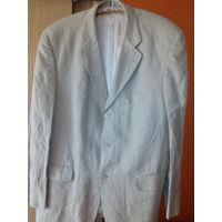 Пиджак мужской льняной 50-52 р и брюки в подарок!