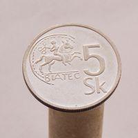 Словакия 5 крон 1993