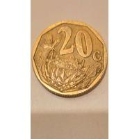 ЮАР 20 центов 2005