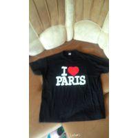 Крутая майка Я люблю Париж