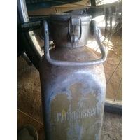 Отличный сохран Аллюминевая немецкая фляга 40см Trinkwasser Целая Клеймо на пробке и на дне не с рубля