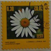Эстония.2007.стандарт.ромашка.