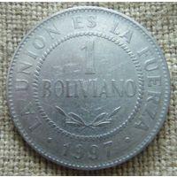 1 боливиано 1997 Боливия