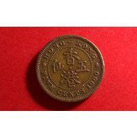 5 центов 1960. Гонконг.