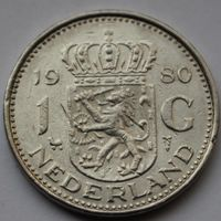 1 гульден 1980 Нидерланды