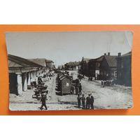 "Фото до 1917 г. ""Вид на рынок, базар"""
